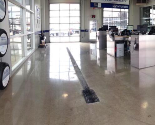 Concrete Polishing – Design Floor Coatings, LLC